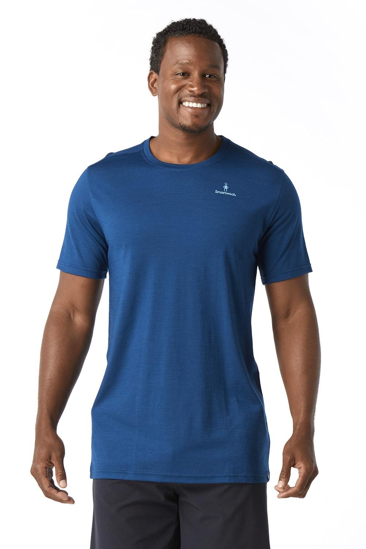 SMARTWOOL Merino 150 férfi póló, kék kék S