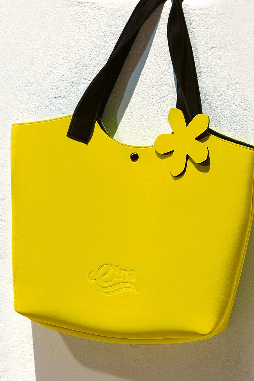 Lady Etna strandtáska, sárga sárga uni