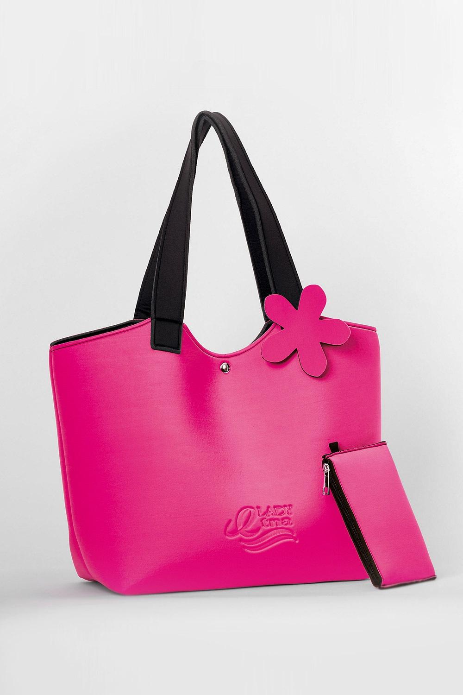 Lady Etna strandtáska, rózsaszín rózsaszín uni