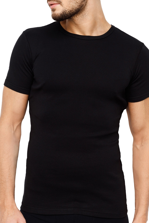 ROSSLI Premium Cotton férfi póló szürke M