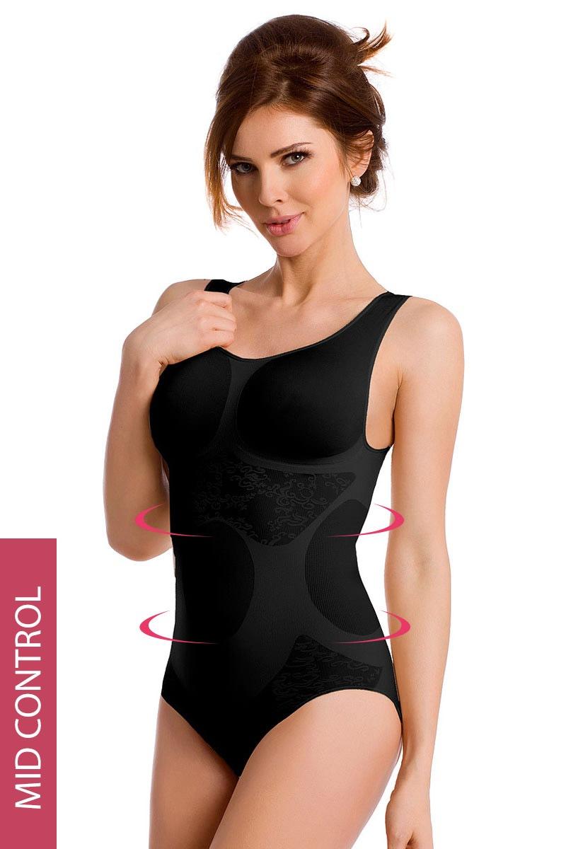 Fiori alakformáló női body bézs S