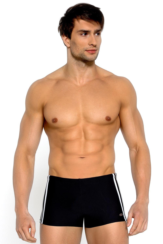 LORIN Ignazio Black férfi úszónadrág fekete S