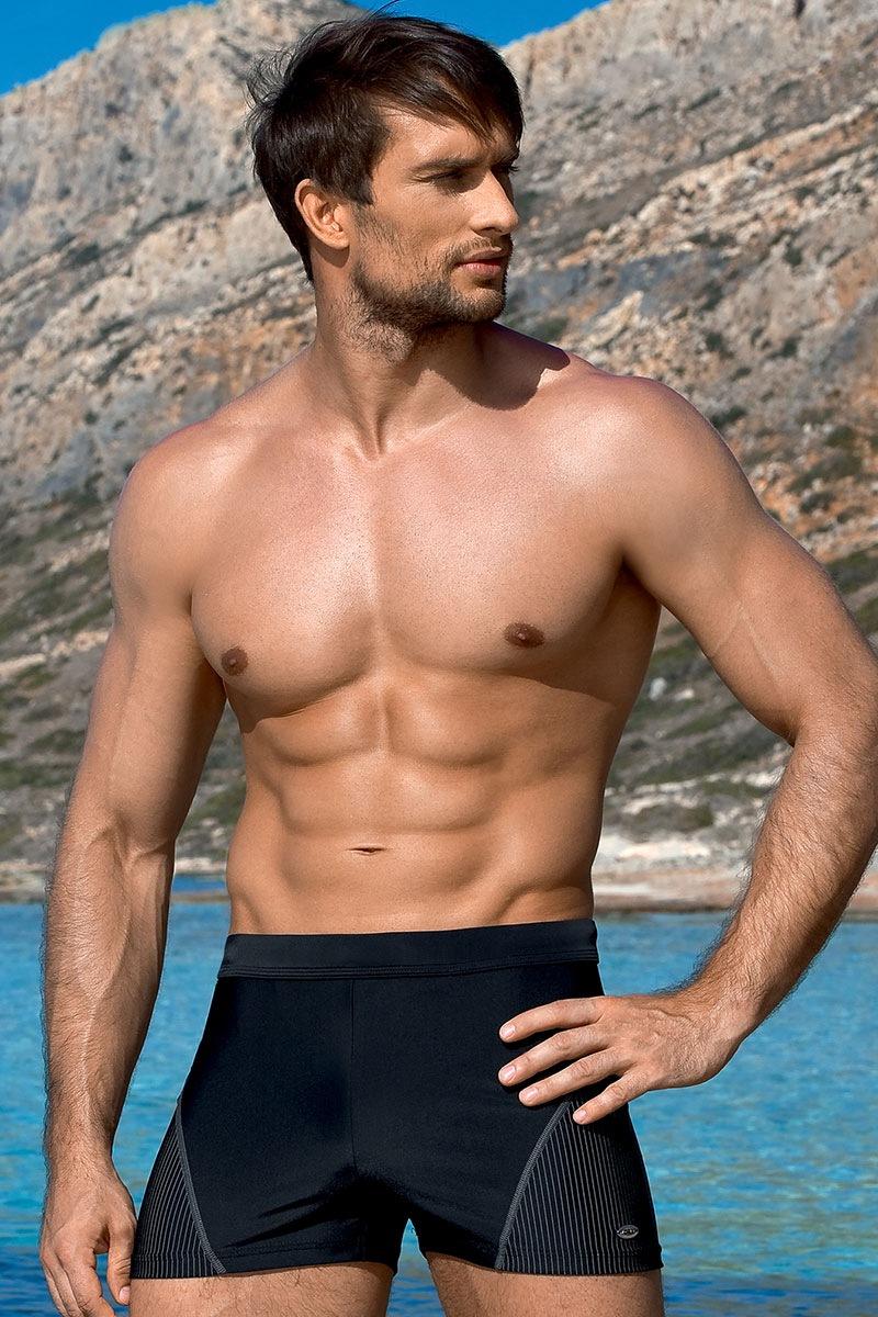 LORIN Luigi férfi úszónadrág fekete S