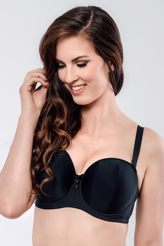 Curvy Kate Luxe Bardot melltartó bézs 60/K