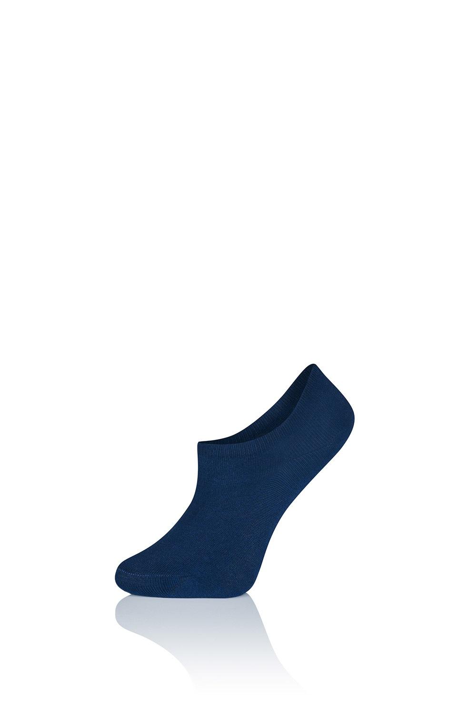 Alexa pamut női zokni, sportcipőhöz fekete uni