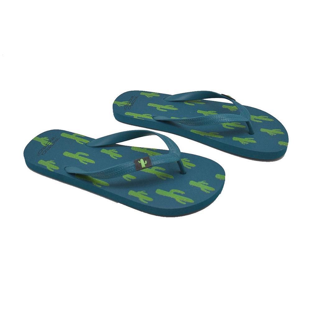 Cactus férfi lábujjközös strandpapucs kék 40