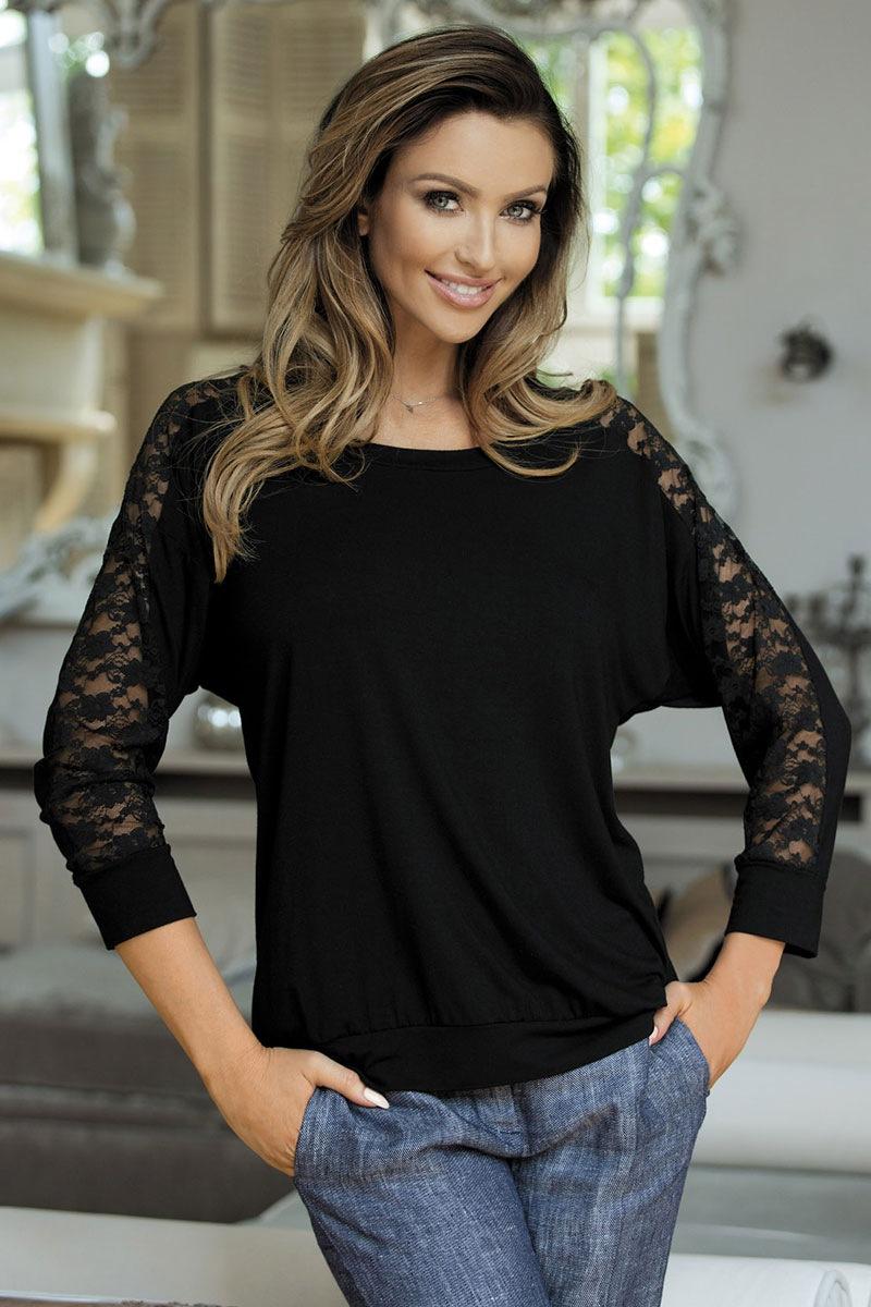 Celine blúz jellegű női póló fekete S