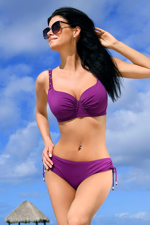 Jimbaran kétrészes női fürdőruha, purple lila 70/D