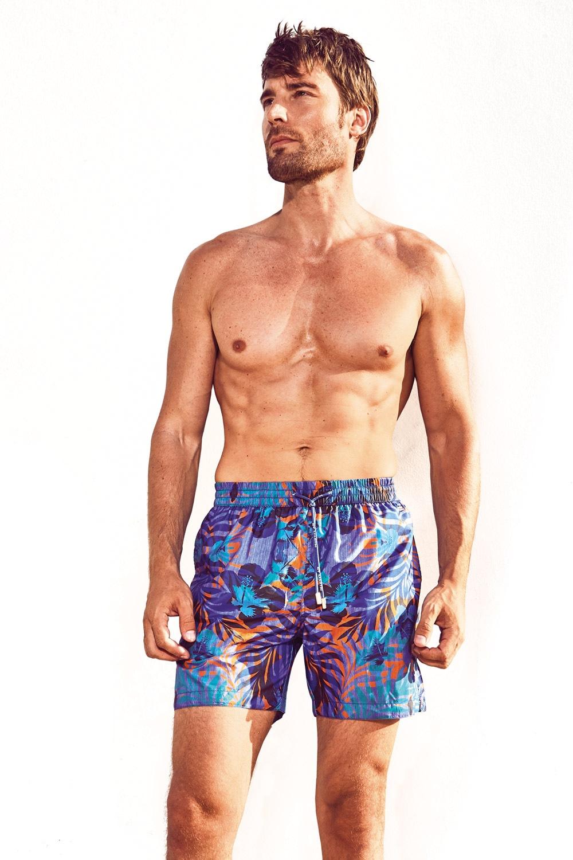 DAVID 52 Jungle Caicco férfi fürdőshort színes M