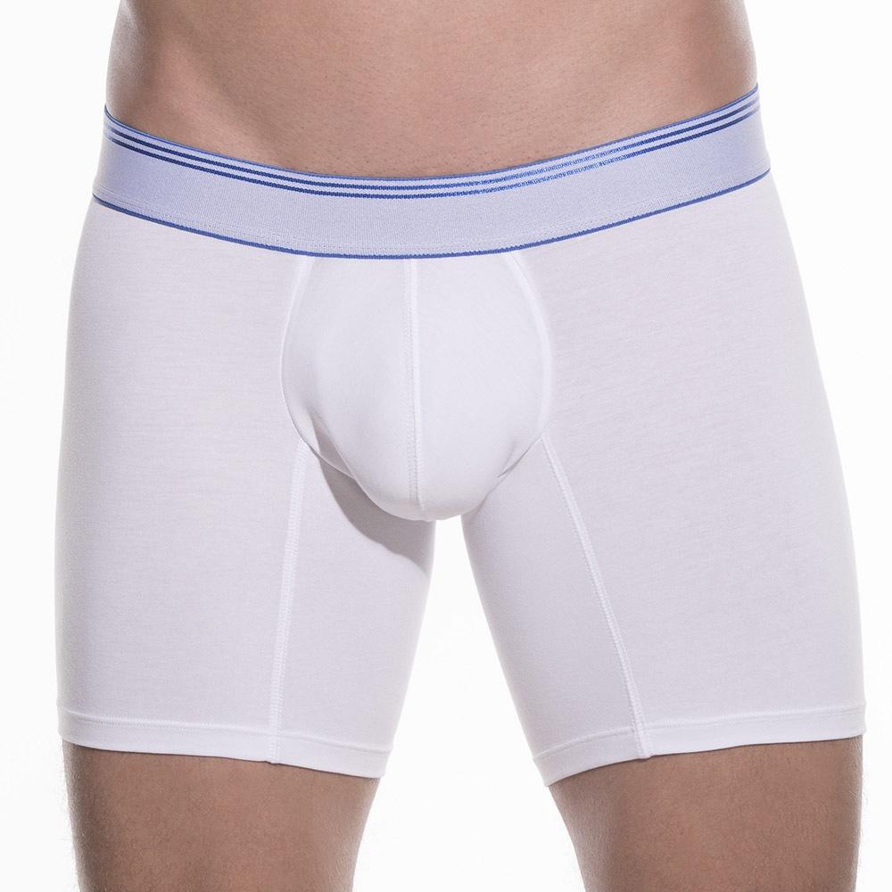 UNICO MUNDO Daily Blue Pima 209 férfi boxeralsó fehér-kék XL