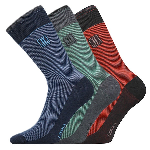 Destrong B zokni 3 pár egy csomagban színes 43-46