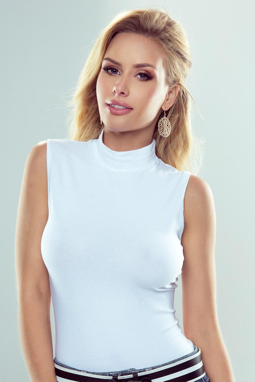 Emmi pamut női póló fehér S