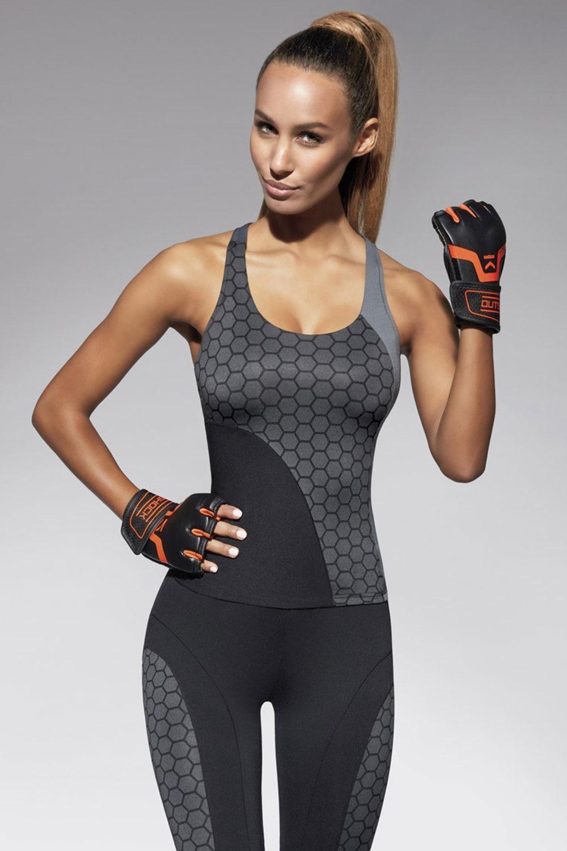 Escape női sport atléta feketés-szürke S