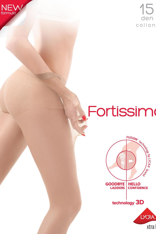 Fortissima női harisnyanadrág, 15 DEN nero S