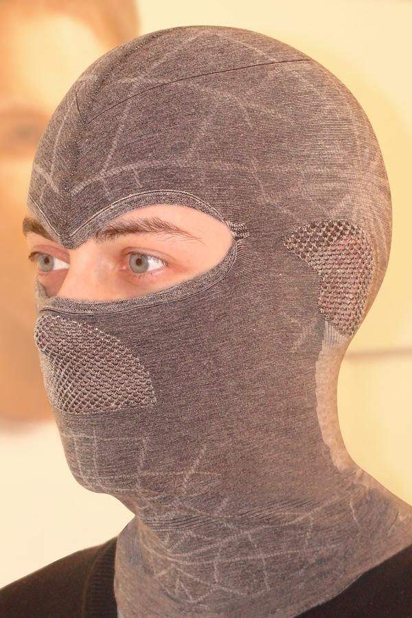 HASTER Unisex funkcionális maszk sapka sötét-szürke S/M