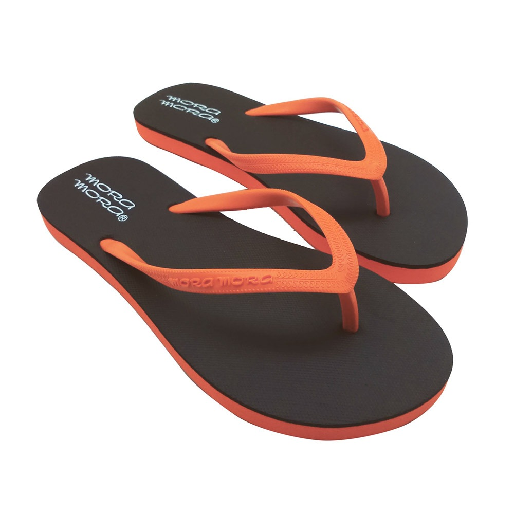 Janiero női lábujjközi papucs barna/narancssárga 36
