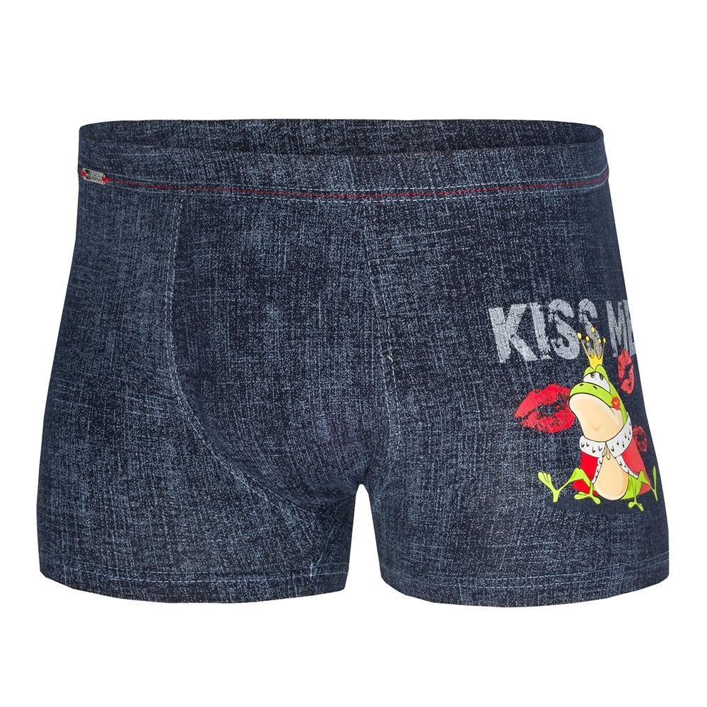 CORNETTE Kiss Me férfi boxeralsó kék S