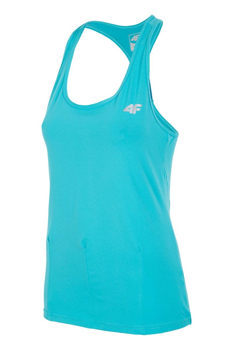 4F Fitness 04 Dry Control ujjatlan női sport póló korall XS