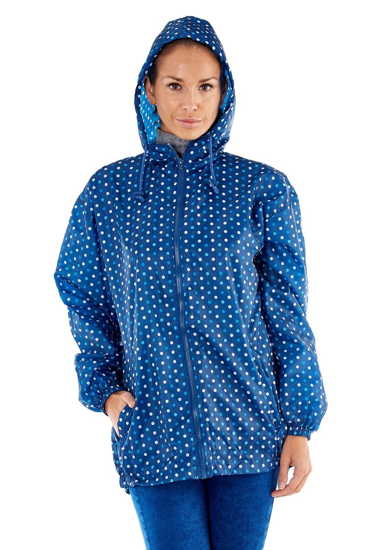 PROCLIMATE Blue vízálló dzseki, zsebébe elcsomagolható kék S