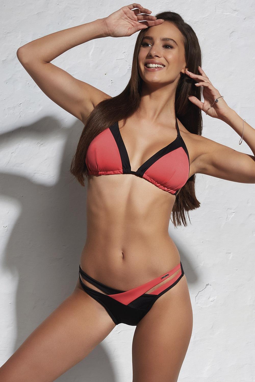 Laguna Red Bustier kétrészes női fürdőruha színes S