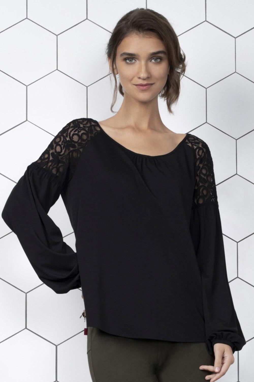 Malta blúz jellegű női póló fekete S