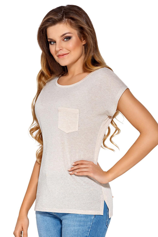 Manuela női póló szürke S