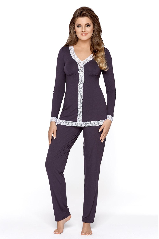 Marcajana női pizsama szilvakék S