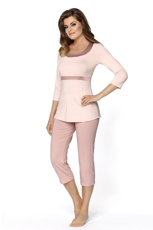 Megan női pizsama púder S