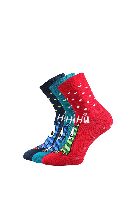 Meleg zokni, Bagoly, 3 pár 1 csomagban színes 39-42