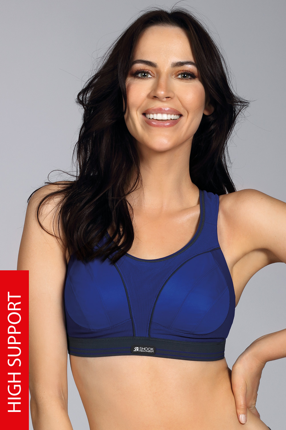 Shock Absorber Run Bra sportmelltartó, kék