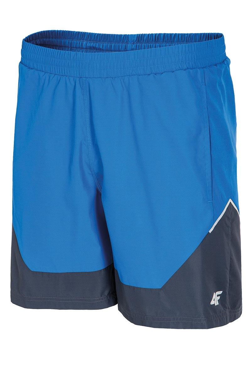 Férfi sport rövidnadrág 4f hosszabb világoskék S