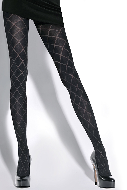Savia - női harisnyanadrág fekete 2