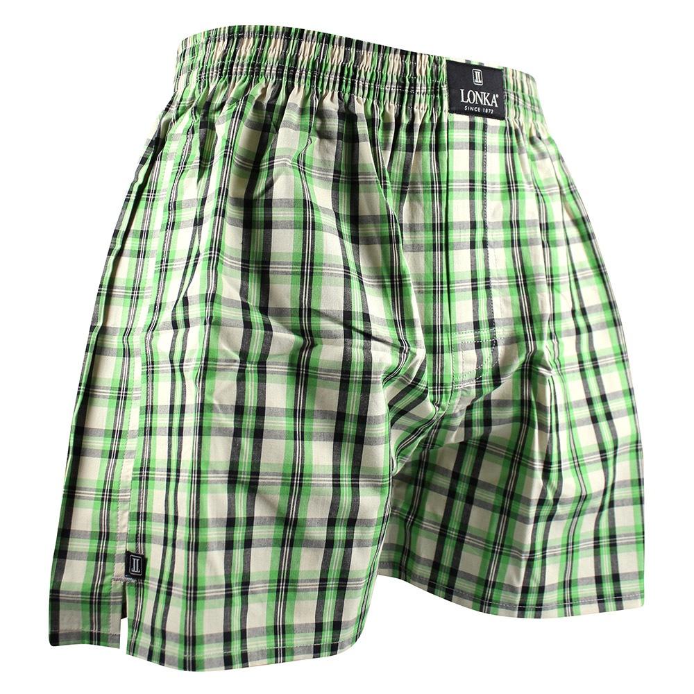 LONKA Mathew férfi alsónadrág zöld M