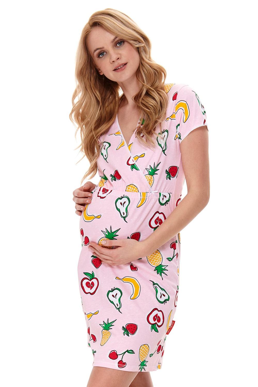 Fruits kismama hálóing, szoptatáshoz többszínű S