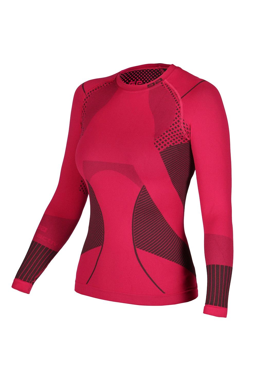GATTA Active Basic női termó póló málnaszín S