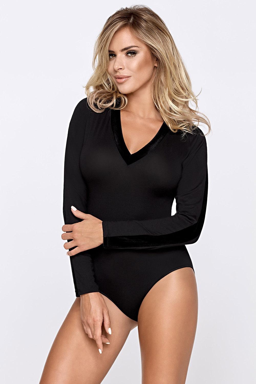 Vita női body fekete XL