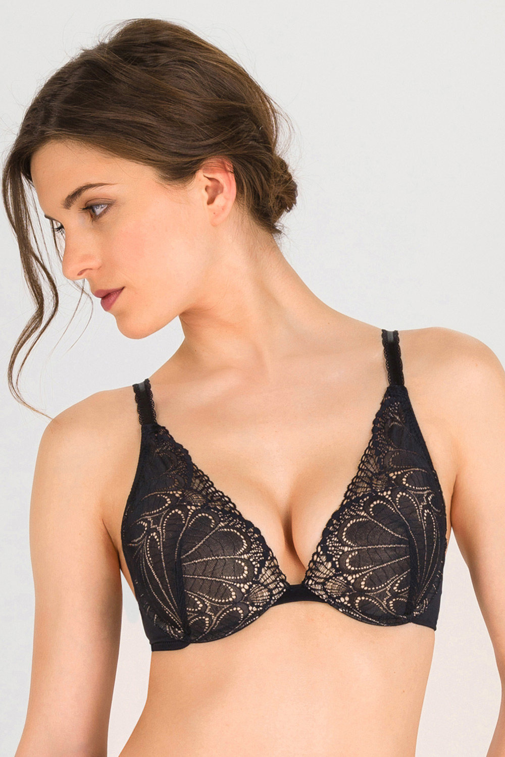 Wonderbra Triangle melltartó Double Push-Up