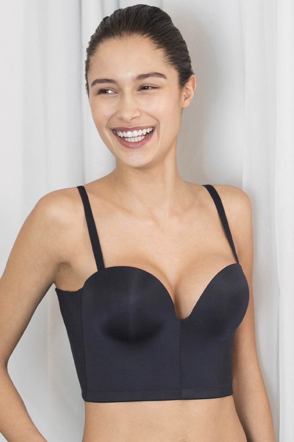 Wonderbra Ultimate Backless Push-Up black melltartó